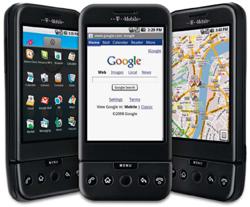 T-Mobile Google G1 in Kitzingen eingetroffen