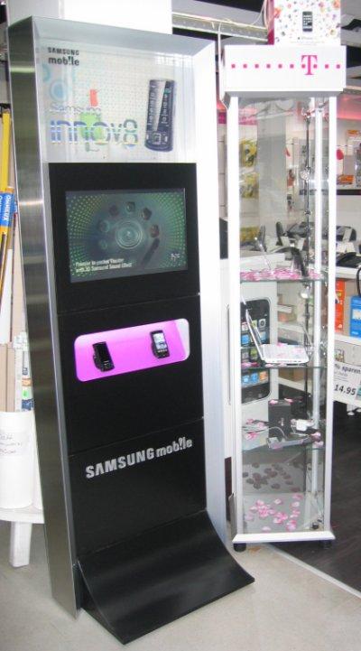 Samsung i8510 Innov 8 Display