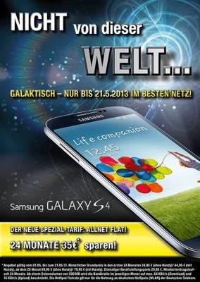 Galaxy-S4-Aktion